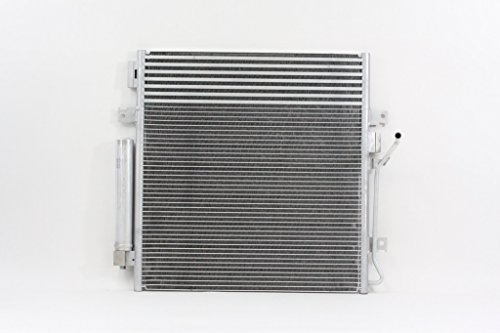 A/C Condenser - Cooling Direct : For/Fit 3664 Dodge Nitro Jeep Liberty AT w/ Transmission Oil Cooler w/ Receiver & Dryer