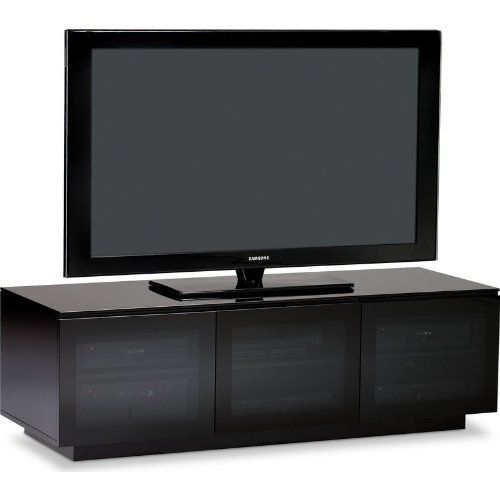 Cheap BDI Mirage 8227-2 – 61″ TV Stand Home Theater Cabinet in Gloss Black (8227-2)