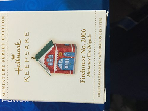 Hallmark Keepsake Ornament Firehouse No. 2006 Miniature Fire Brigade