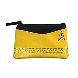 Star Trek Original Series Gold Uniform Coin Purse