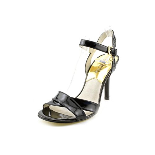 Michael Kors Elisa Sandal Womens Size 9 Black Dress Sandals Shoes
