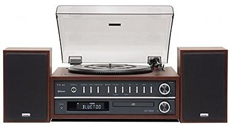 Teac MC-D800-CH Chaine Hifi Bluetooth/Vinyle - Merisier