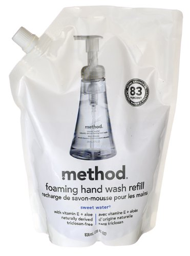 method Foaming Hand Wash Refill Pouch, Sweet Water, 28 Fl Oz variational method