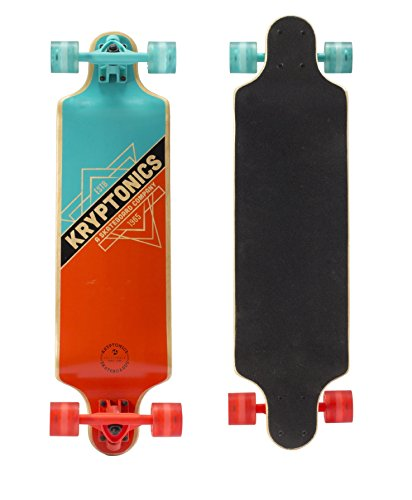 Kryptonics SKKRTRI32600000 California 32'Series-Skateboard Multicolore