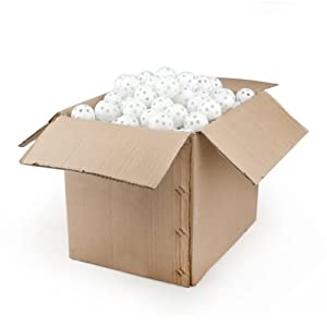 Wiffle Practice Golf Balls - 240 Pieces Wholesale Lot, White by GOGO