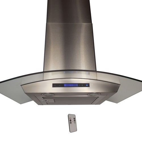 "Firebird 30"" Euro Style Wall Mount Stainless Steel Range Hood Kitchen Stove Vent/W Remote And Gas Sensor Fbak-10D-30R"