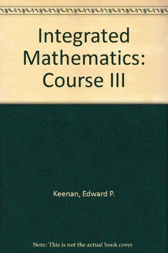 Integrated Mathematics: Course III (12-1792)