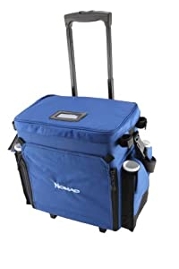 Okuma Fishing Tackle Nomad Travel Series Tackle Rolling Deck Bag by Okuma