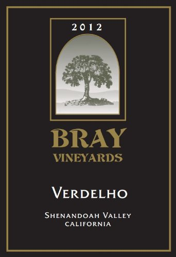 2012 Bray Vineyards Verdelho Shenandoah Valley California 750 Ml