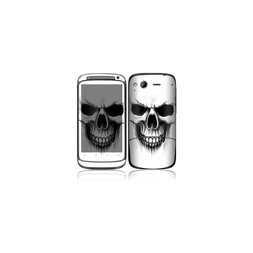 The Devil Skull Design Decorative Skin Cover Decal Sticker for HTC Desire S Cell Phone