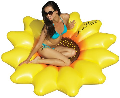 Swimline Sunflower Float front-562453