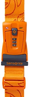Samsonite Luggage Travel Sentry 3 Dial Combination Strap