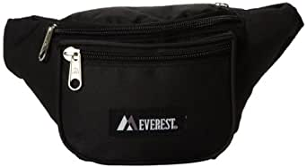 Everest Signature Waist Pack - Standard, Black, One Size