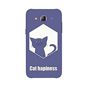 Back cover for Samsung Galaxy J7 Cat hapiness