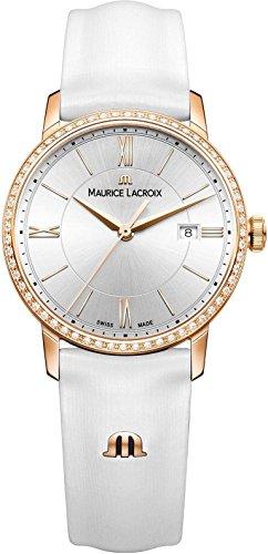 Maurice Lacroix Eliros EL1094-PVPD1-112-1 Reloj de Pulsera para mujeres con diamantes genuinos
