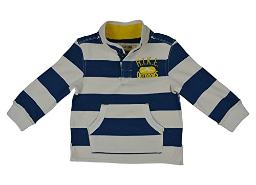 Alfa Global Boy'S Genuine Osh Kosh Long Sleeve Striped Top 2T back-1016319