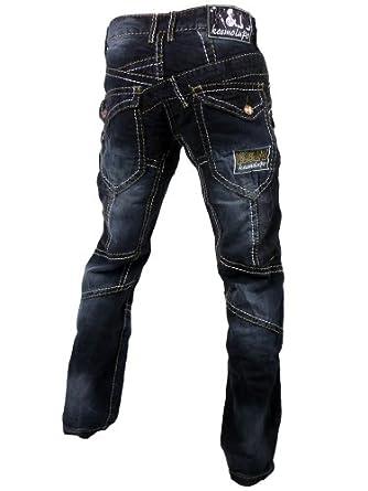 Kosmo Lupo Optic Herren Jeans Hose W29/L32 [001]