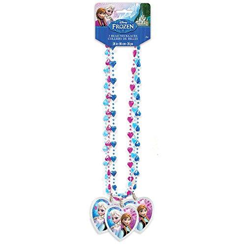 Disney Frozen Bead Necklaces, 3ct - 1