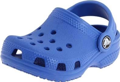 Crocs Crocs Littles, Chaussures premiers pas mixte, Bleu (Sea Blue), EU 17-19, (US C2C3)