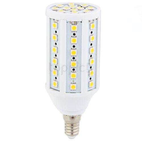 E14 12W 5050 Smd 60 Led Warm White Corn Light Lamp Bulb Ac 220V-240V 3000K