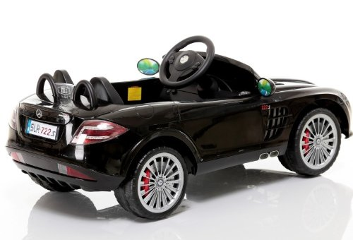 new 2014 model 4ch remote controlled electric licensed mercedes benz ride on car for kids ages 2 4 with lights music 2 motors 12 volts black