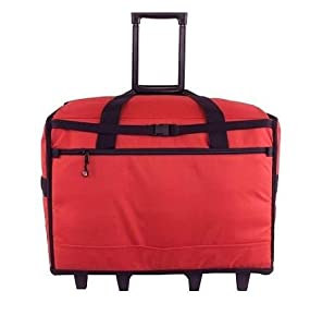 "BlueFig TB23IM Wheeled Travel Bag 23"" in Red"