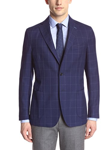Gi Capri Men's Hopsack Windowpane Jacket