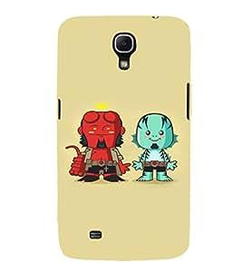 EPICCASE Little Demons Mobile Back Case Cover For Samsung Galaxy Mega 6.3 I 9200 (Designer Case)