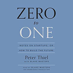 Zero to One | Livre audio