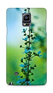 Amez designer printed 3d premium high quality back case cover for Samsung Galaxy Note 4 (blossom landscape)
