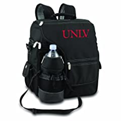 NCAA UNLV Runnin Rebels Turismo Insulated Backpack Cooler by Picnic Time