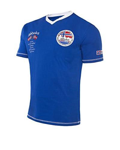 Nebulus T-Shirt Manica Corta Jordan [Blu]