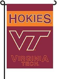 Buy BSI Virginia Tech Hokies Garden Flag w Pole by BSI