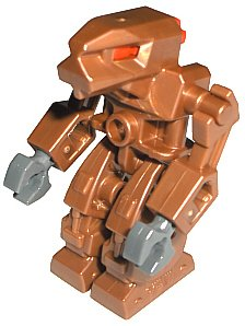 Lego Exo-Force Minifigure: Iron Drone 2 Robot - 1