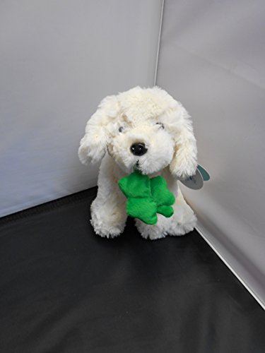 Beverly Hills White Doggy with Green Clover - 1