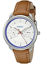 Fossil Women's ES3805 Tailor Analog Display Analog Quartz Brown Watch