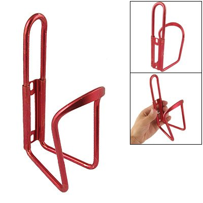 Como Bicycle Burgundy Aluminum Rack Water Bottle Cage Holder