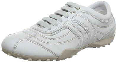 Geox D SNAKE R D3212R00081C1002, Damen Sneaker, Beige (OFF WHITE C1002), EU 36