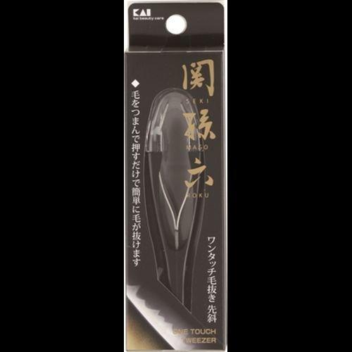 関孫六 ワンタッチ毛抜き(先斜)