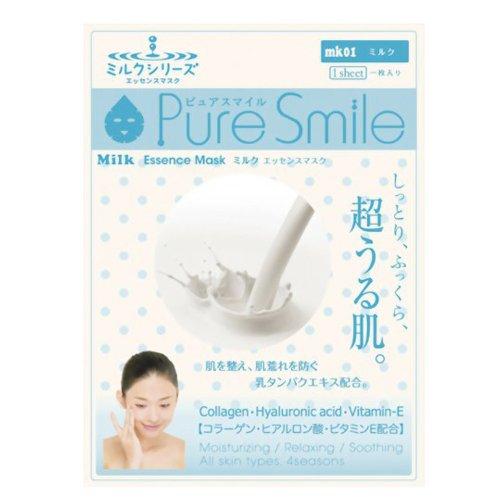 Pure Smile エッセンスマスク ミルク