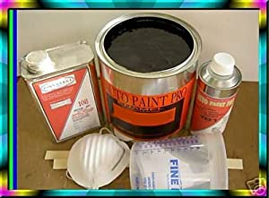 Auto Body Paint Single Stage Enamel Jet Black III Kit $ 79.00