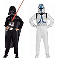 Rubie's - Star Wars - ST-37013 - Costume - Boite Dark Vador + Clone Trooper