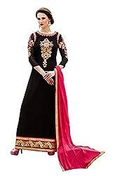 Surbhi Fashion-SDVI-SHEEBA10718-Designer Semi Stitched Dress Material