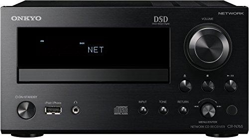 CR-N765 (B) Netzwerk HiFi-Mini Receiver (22W/Kanal, CD, Hi-Res Audio, DSD, dlna, Spotify Connect, RDS Radio, iPod/iPhone, USB) schwarz