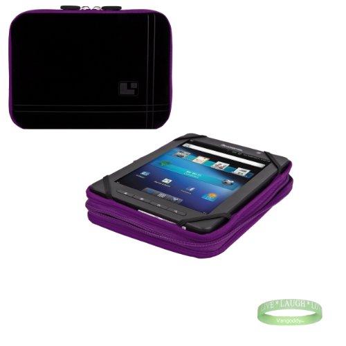 Black and Purple Sleve for your Arnova Child Pad with interior padding + Vangoddy Bracelet!!!