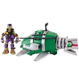 Mutant Ninja Turtles Turtle Sub with Donnie Figure: Toys & Games