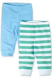 2 Pack Cotton Rich Assorted Leggings [T78-4059B-Z]