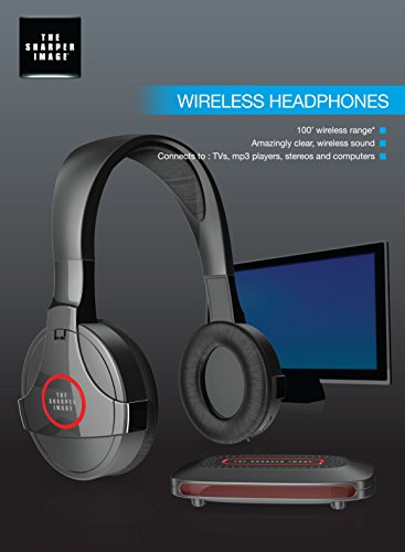 sharper image wireless headphones manual