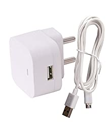 Dhhan Wall Charger & USB Cable for Karbonn Titanium S 15 Plus