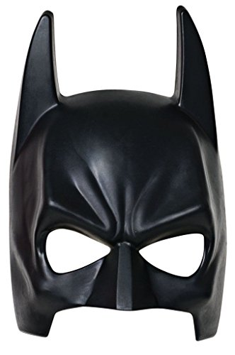 Batman the Dark Knight Rises Plastic Half Mask Costume Accessory